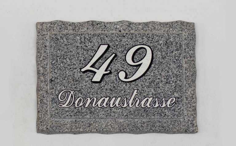 Hausnummer H6
